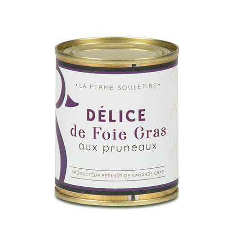 Délice de foie gras de canard aux...