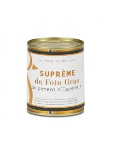 Suprême de foie gras de...