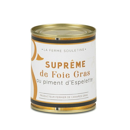 Suprême de foie gras de canard au...
