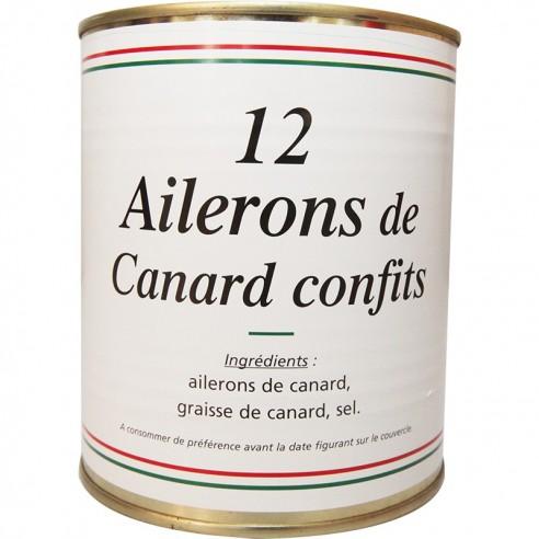 12 Ailerons (poids net 800g)