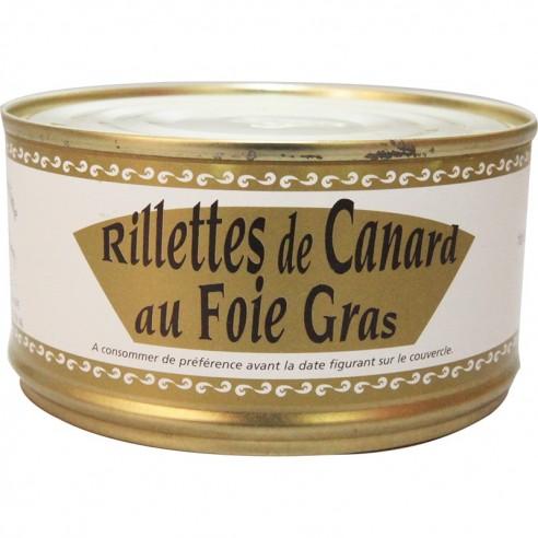 Rillettes au foie gras 200g
