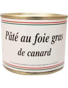 Pâté au foie gras de canard (200g)