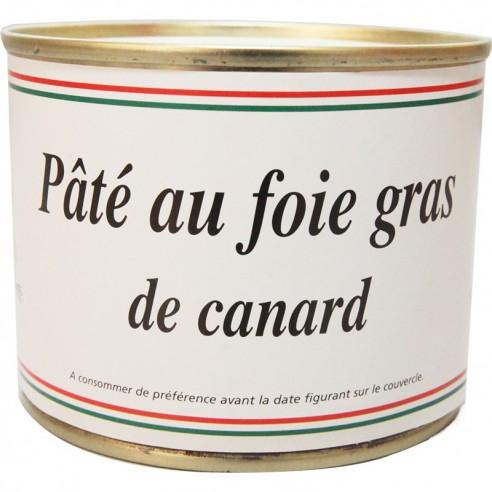 Pâté au foie gras de canard 200g