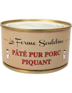 Pâté de foie pur porc piquant (130g)