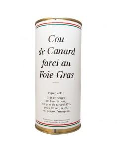 Cou de canard farci au foie gras (530g)