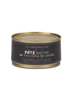 Pâté pur porc au foie gras...