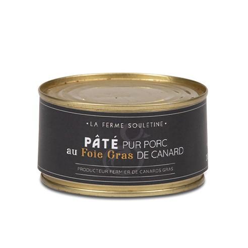 Pâté pur porc au foie gras de canard...