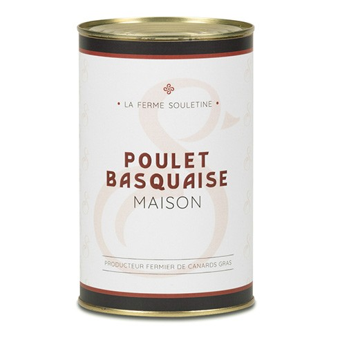 Poulet basquaise (1000g)