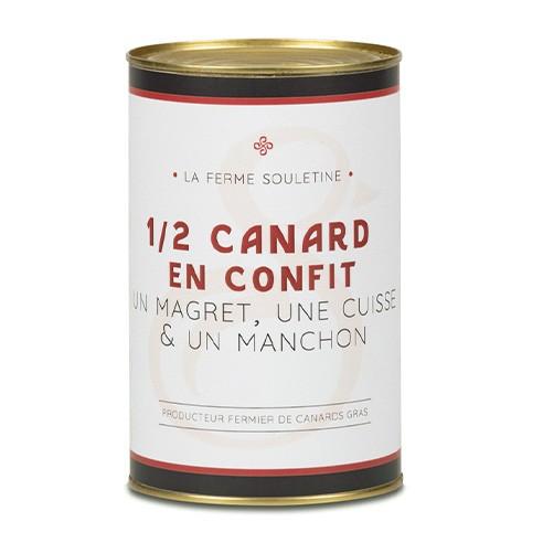 1/2 Canard (1 magret, 1 manchon, 1...