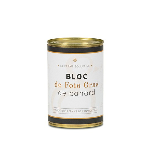 Bloc foie gras de canard avec...