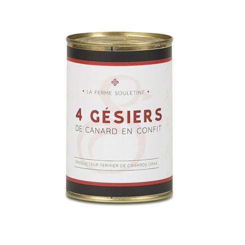 4 Gésiers (380g)