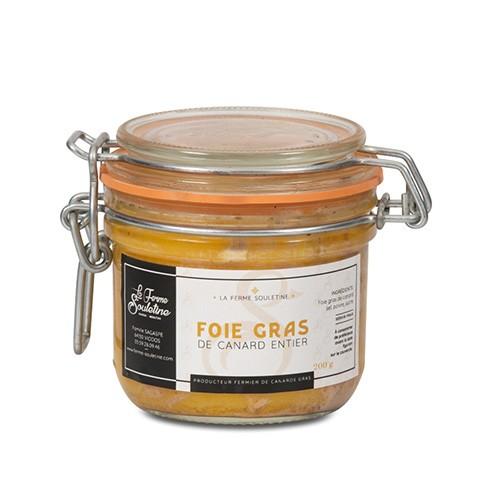 Foie gras de canard entier (200g)