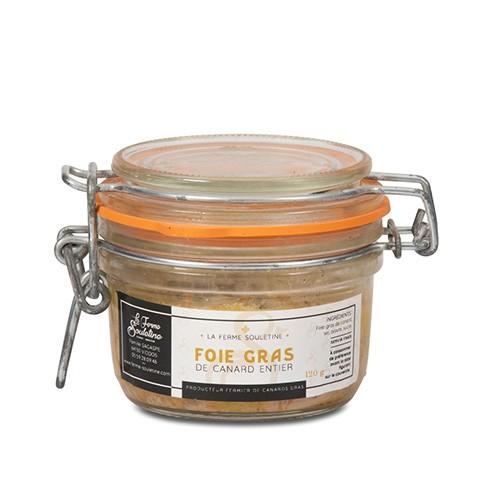 Foie gras de canard entier (120g)